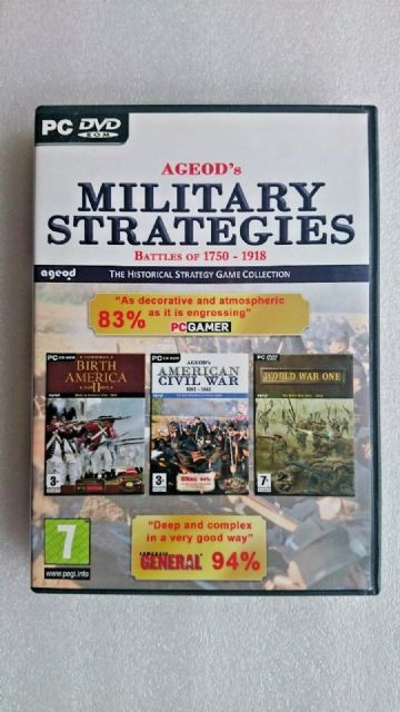 Ageod Strategy Collection: Battles of 1750-1918 (PC: Windows, 2009)